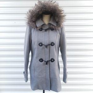 Calvin Klein Gray coat size medium